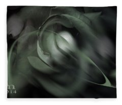 rose 18X24 1 Fleece Blanket