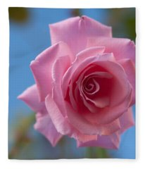 Roses In The Sky Fleece Blanket
