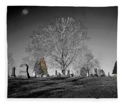 Roseville Cemetary Fleece Blanket