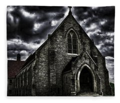 Roseville Ohio Church Fleece Blanket
