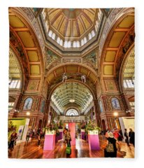 Royal Exhibition Building II Fleece Blanket