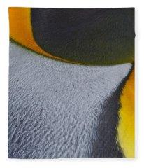 Royal Feathers Fleece Blanket