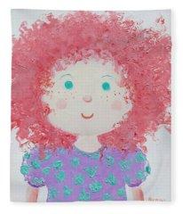 Ruby Fleece Blanket