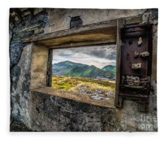 Ruin With A View  Fleece Blanket