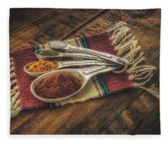 Rustic Spices Fleece Blanket