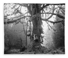 Sacred Tree No. 2 Fleece Blanket