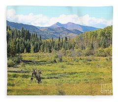 Saddle Mountain Fleece Blanket