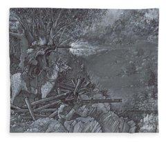 Saddle Sniper Fleece Blanket