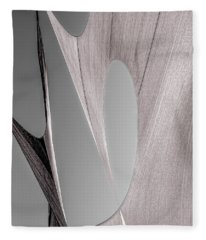 Sailcloth Abstract Number 2 Fleece Blanket