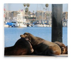 Sailing Dreams  Fleece Blanket