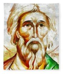Saint Andrew  Fleece Blanket
