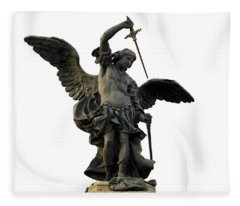 Saint Michael Fleece Blanket