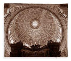 Saint Peter Dome Fleece Blanket