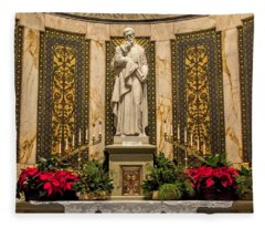 Saint Vincent Depaul Chapel Fleece Blanket