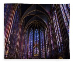 Sainte Chapelle Fleece Blanket