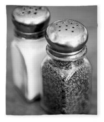 Salt And Pepper Shaker Fleece Blanket