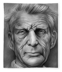 Samuel Beckett Fleece Blanket