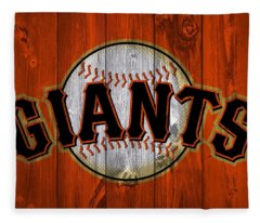 San Francisco Giants Barn Door Fleece Blanket