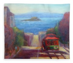 San Francisco Hills Fleece Blanket