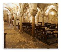 San Michele Chapel Fleece Blanket