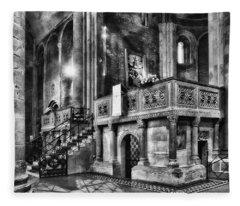 San Michele Toward The Altar Fleece Blanket