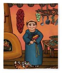 San Pascual And Vigas Fleece Blanket