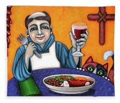 San Pascual Cheers Fleece Blanket