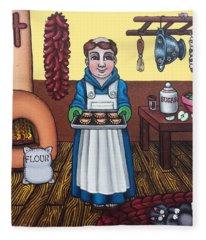San Pascuals Empanaditas Fleece Blanket