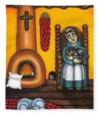 San Pascuals Nap Fleece Blanket