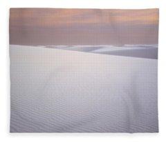 Chihuahuan Desert Fleece Blankets