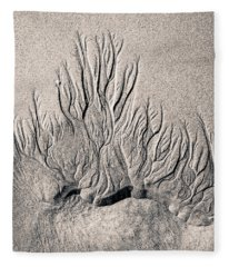 Sand Trails Fleece Blanket