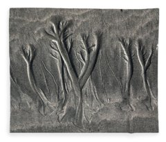Sand Trees Fleece Blanket