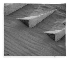 Sands Of Steps Fleece Blanket