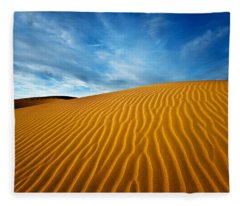 Sands Of Time Fleece Blanket
