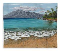 Sandy Beach Fleece Blanket