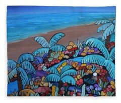 Santa Barbara Beach Fleece Blanket