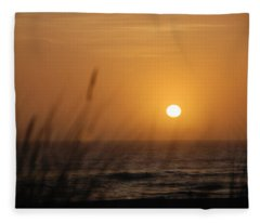Santa Cruz Sunset Fleece Blanket
