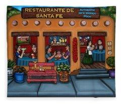 Santa Fe Restaurant Fleece Blanket