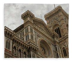 Santa Maria Del Fiore - Florence - Italy Fleece Blanket