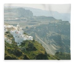 Santorini Fleece Blanket