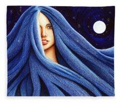Sapphyre Fleece Blanket