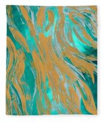 Sargasso Siren Fleece Blanket