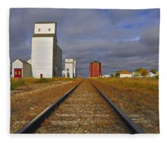 Saskatchewan Prairies Fleece Blanket