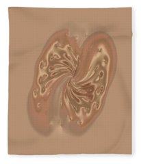 Satin Butterfly Fleece Blanket