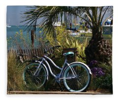 Sausalito Summer Fleece Blanket