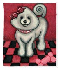 Savannah Smiles Fleece Blanket