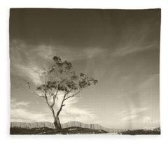 Save The Tree Fleece Blanket