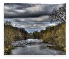 Scenic River 1 Fleece Blanket