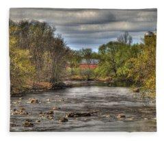 Scenic  River 2 Fleece Blanket