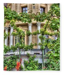 Schwerin Castle Windows. Fleece Blanket